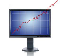 LCD Monitor and Chart