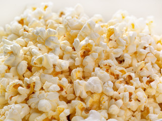 Backlit Popcorn background