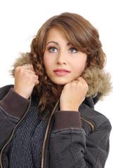Sexy winter girl