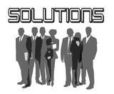 solutions grau poster