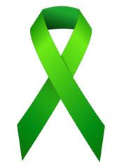 Ruban vert de lutte contre la violence à l'école