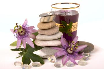 Purple Zen and Glass Heart
