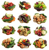 vegetables (available larger separately) poster