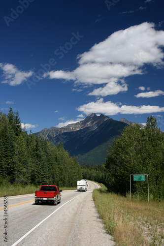 Rocky Mountains road