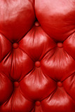 Plush red leather poster