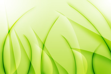 Green grass abstract design