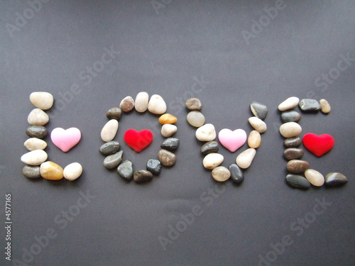 Love with rocks