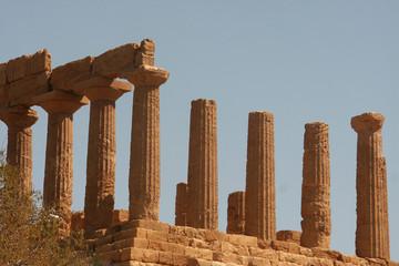 Tempio di Giunone di lato