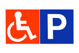 Disabled Parking poster