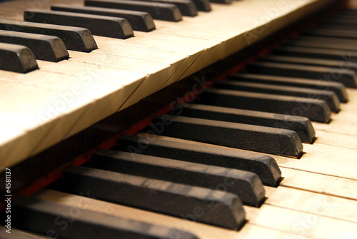 Orgel-Tasten