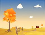 Autumn Pasture poster