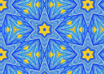Blue Leaf Star A