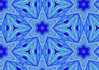 Blue Leaf Star A1