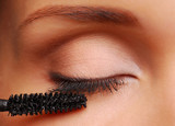 Brush for eyelashes poster