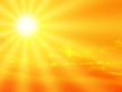 Leinwanddruck Bild - sunbeam