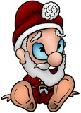 Santa Claus 01 - cartoon illustration poster