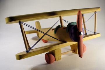 avión madera 2