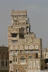 Sana'a, maison tour