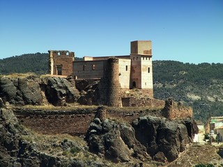 Castillo de COFRENTES - Valle de Ayora - Valencia - Spain