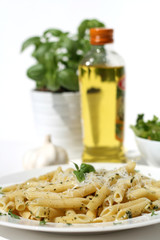 Penne Pasta with Pesto