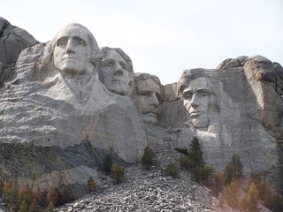 Mount Rushmore (close)