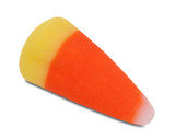 candy corn, outlined poster