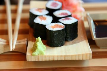 The Japanese kitchen. Sushi 2