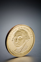 dollar coin George Washington