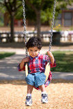 Boy on Swing