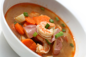 Soup with Shrimp