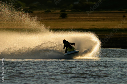 Jet ski action - 4609940