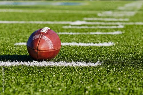 Football on Field