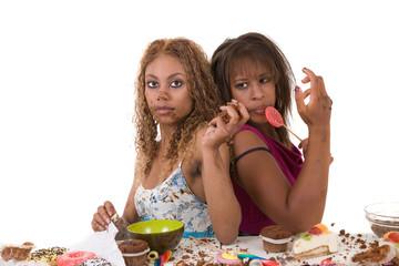 Bulimic girls