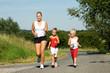 Sport mit Familie
