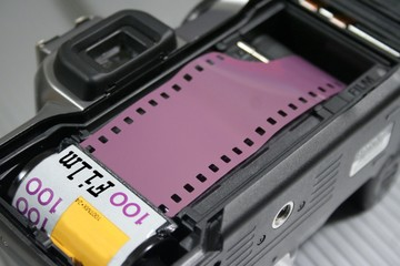 Loading a Roll of Film