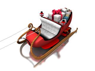 Santa sledges
