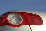 closeup photo of a Volkswagen EOS backlight poster