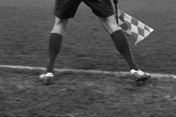 Soccer umpire03Black&White