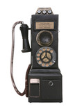 Old Vintage Pay Phone poster