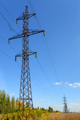 High-voltage perspective view