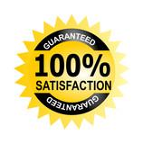 Seal 100% satisfaction guarantee poster