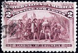 400th anniversary of discovery of america by Columbus poster