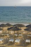 Oura Beach Parasols poster