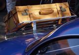Gepäckkoffer auf Karmann Oldtimer