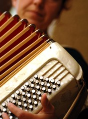 accordéon et son accordéoniste
