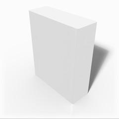 The blank 3d box