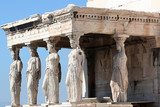 porch of the caryatide, in athens 2 poster
