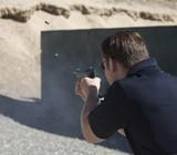 automatic handgun poster