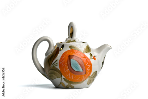 Colorfull teapot