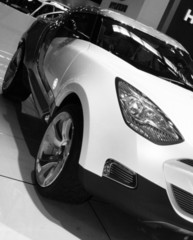 Black&white car
